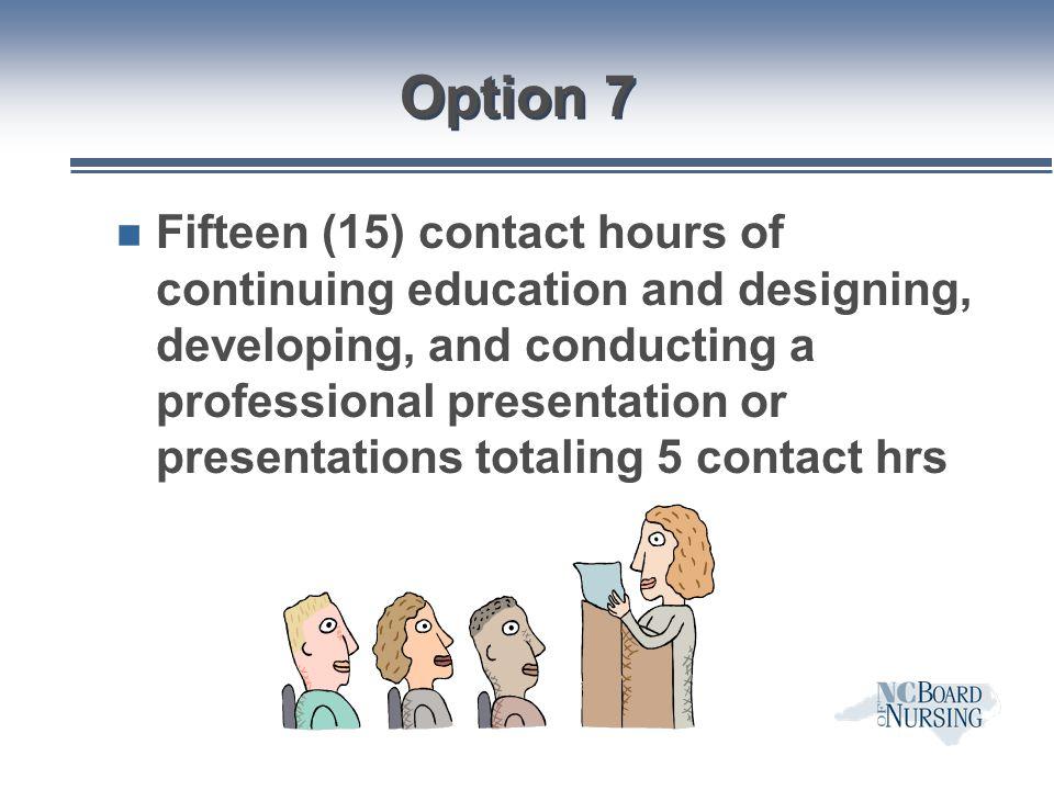 Option 7