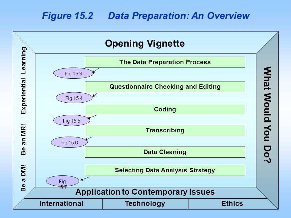 Figure 15.2 Data Preparation: An Overview
