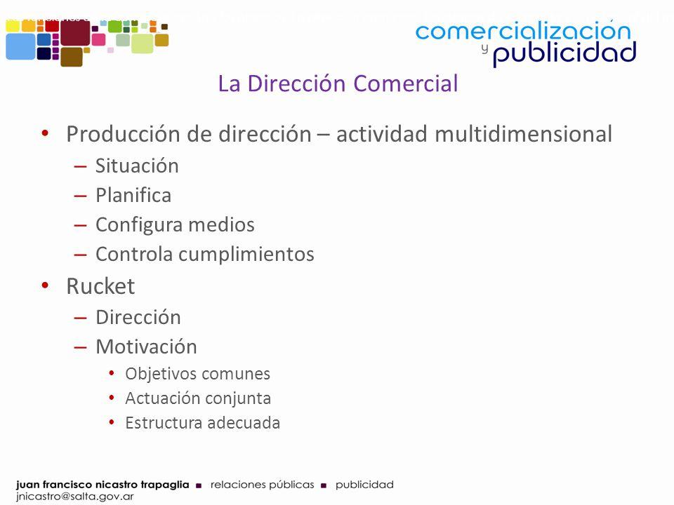 La Dirección Comercial