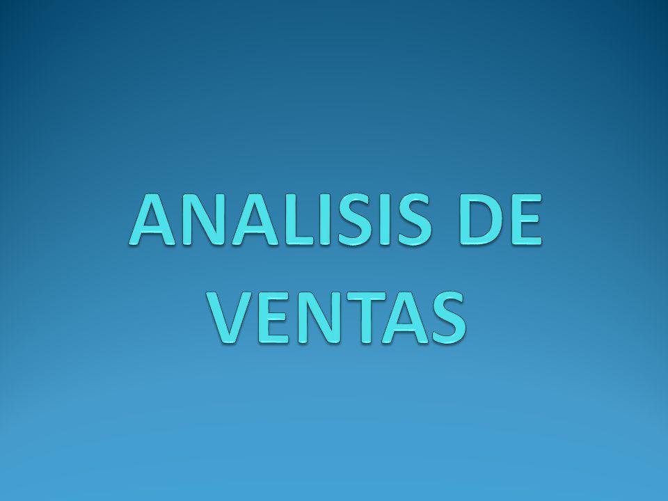 ANALISIS DE VENTAS