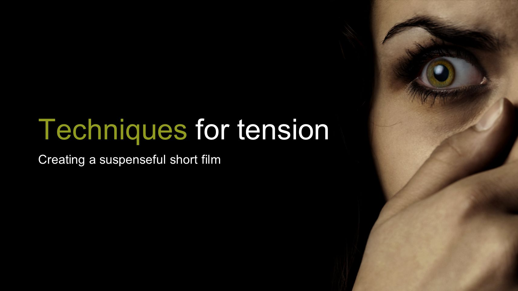 Techniques for tension