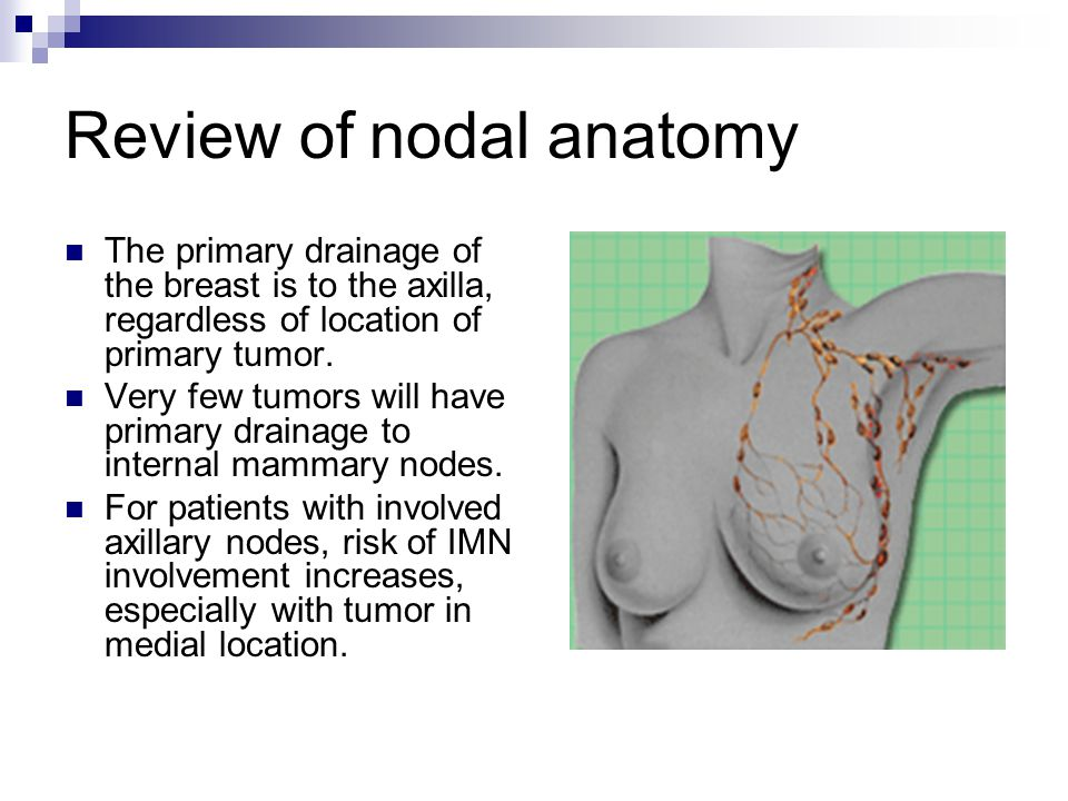 Review of nodal anatomy