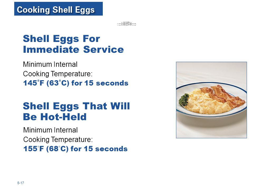 Shell Eggs For Immediate Service