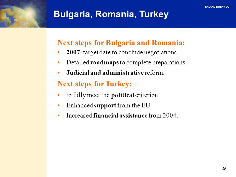 Bulgaria, Romania, Turkey