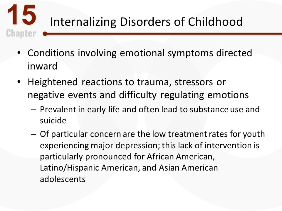 Internalizing Disorders of Childhood