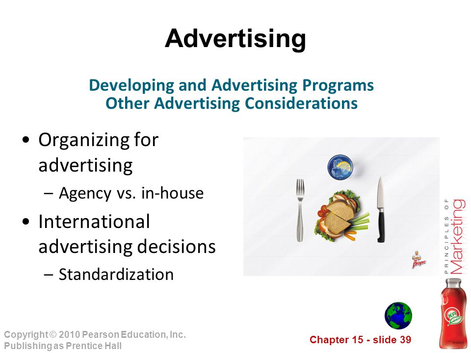 Developing and Advertising Programs Other Advertising Considerations