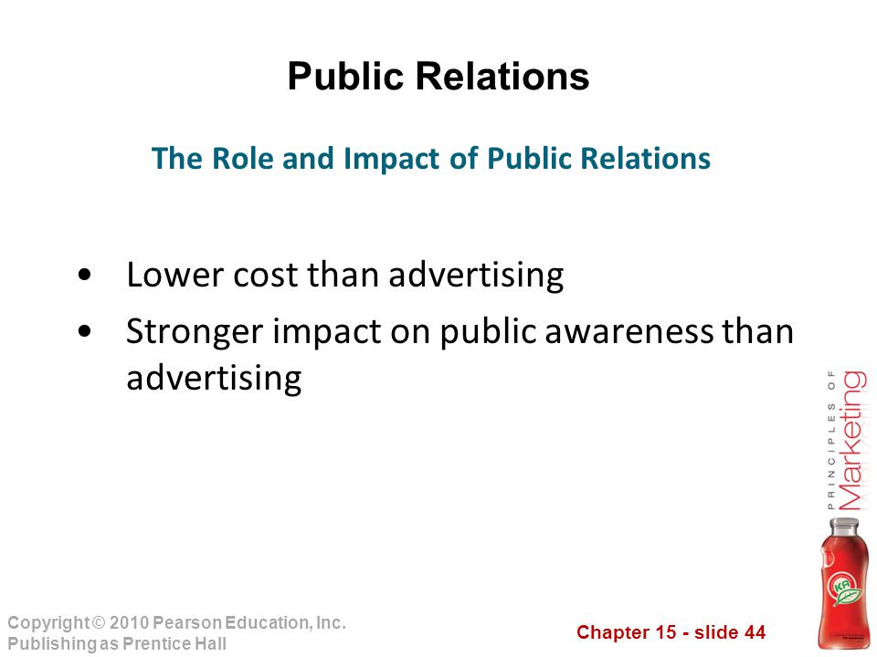 the role of marketing public Public relations (pr), a very versatile communications tool and is today used by  just  pr has a key role in helping to bring about an effective internal marketing.