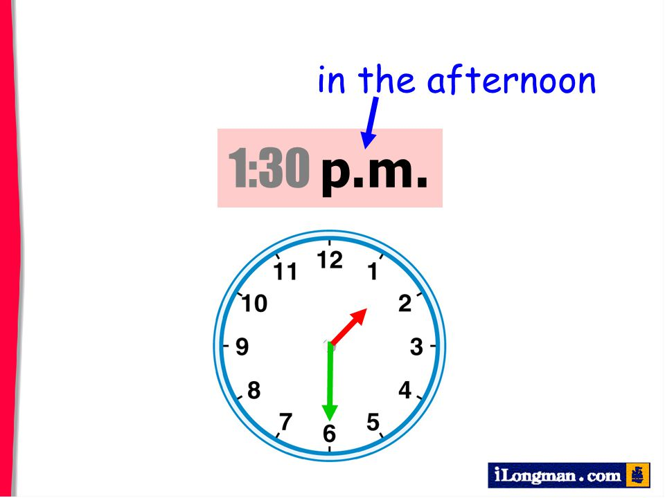 in the afternoon 1:30 p.m.