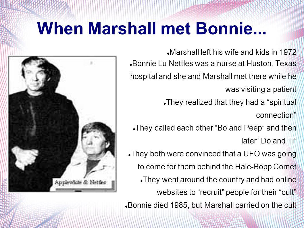 When Marshall met Bonnie...