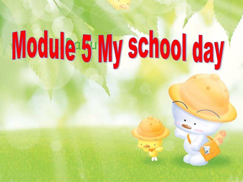 Module 5 My school day
