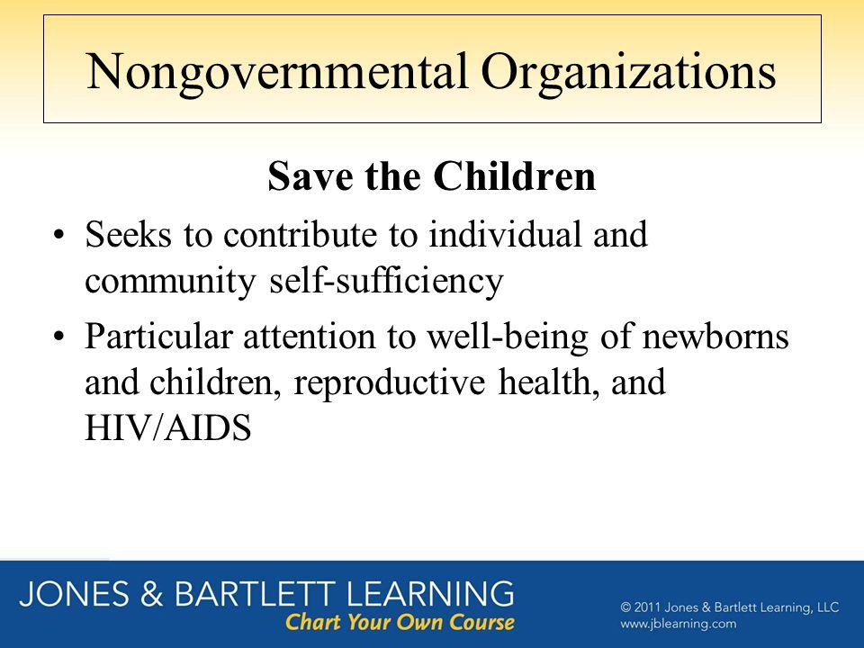 Nongovernmental Organizations
