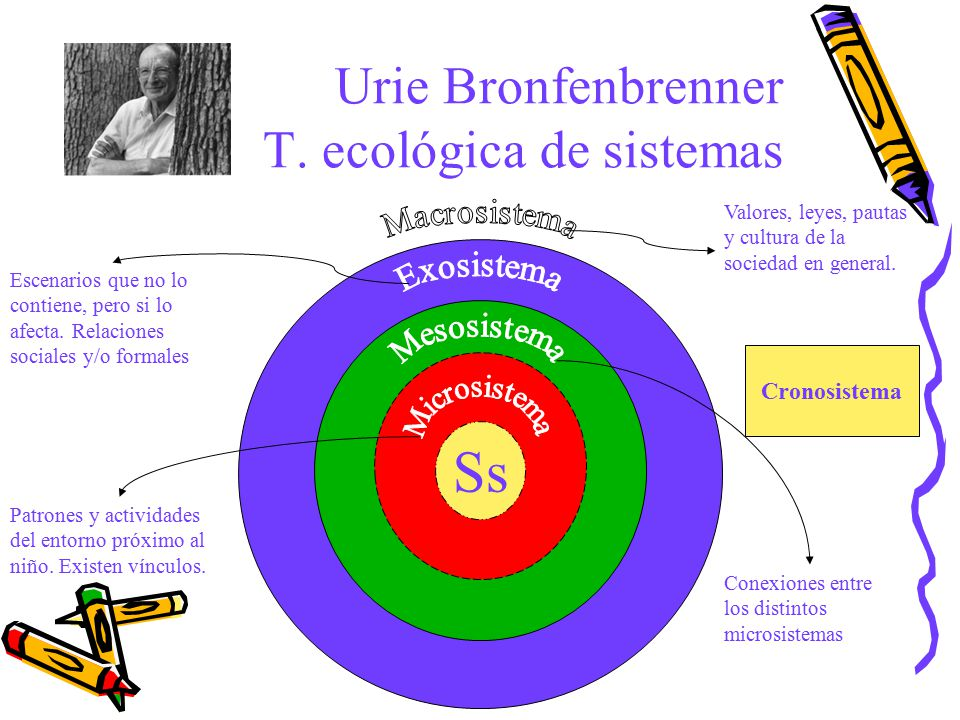 Urie Bronfenbrenner T. ecológica de sistemas