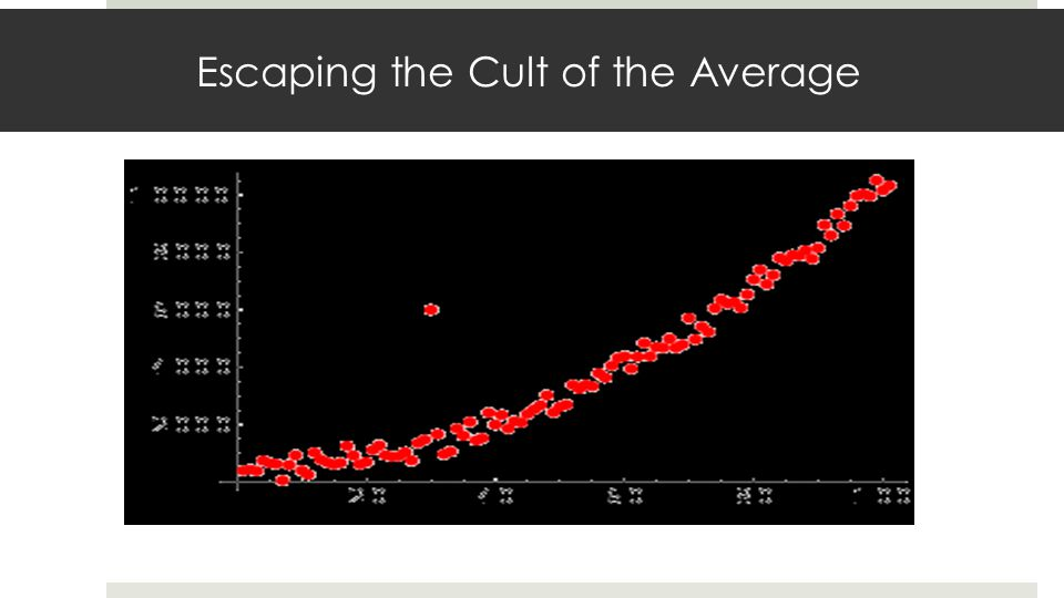 Escaping the Cult of the Average