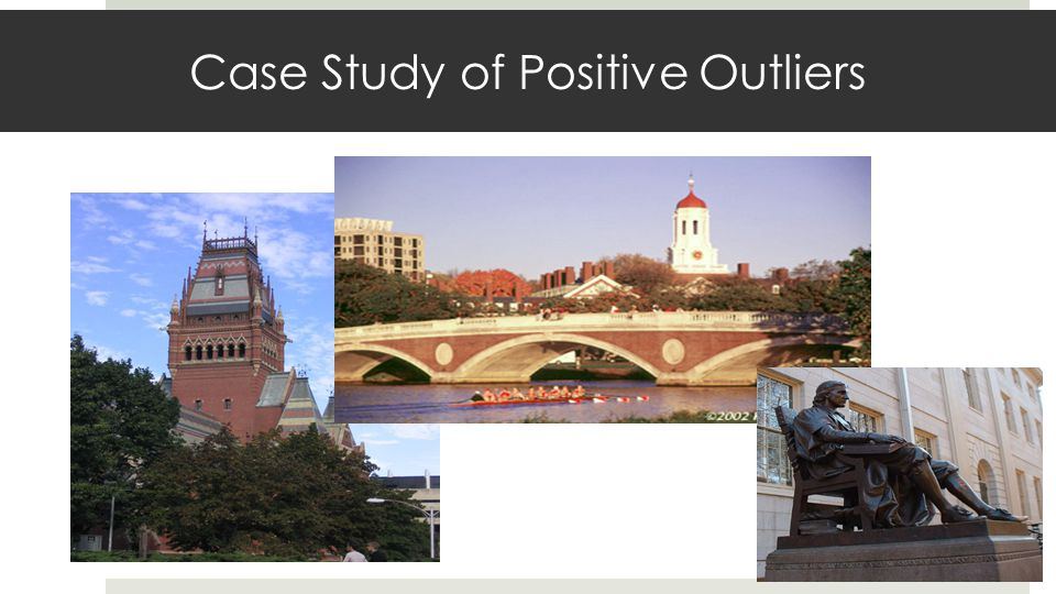 Case Study of Positive Outliers