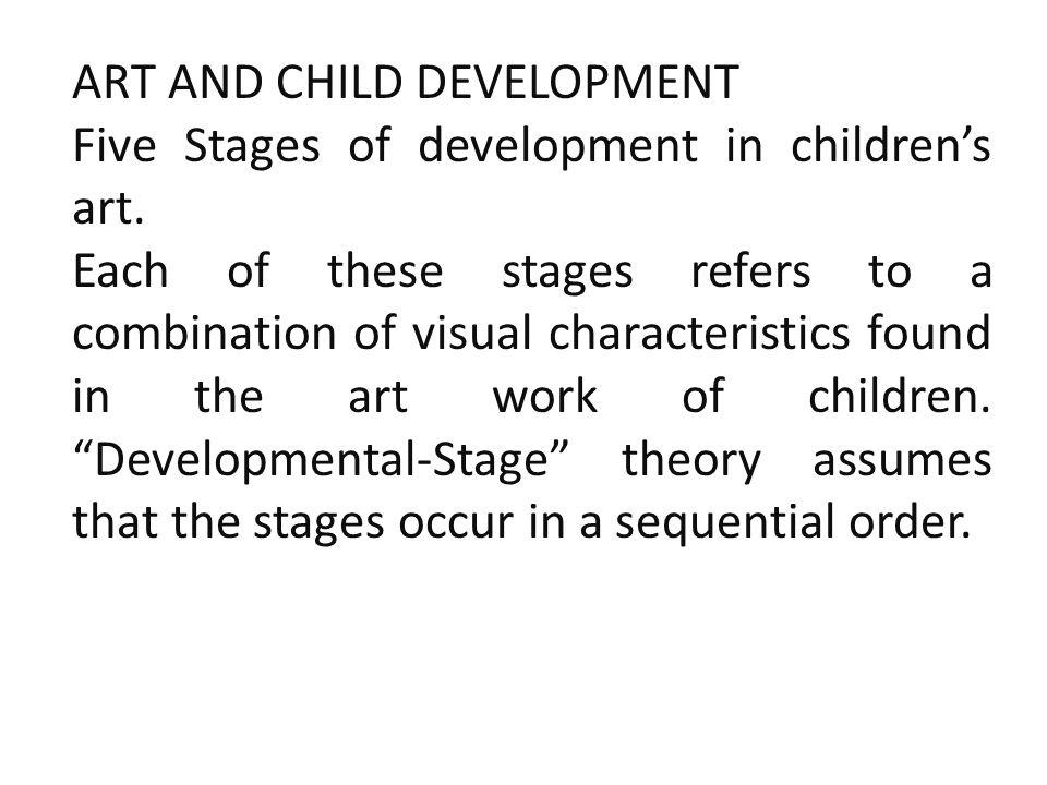 ART AND CHILD DEVELOPMENT