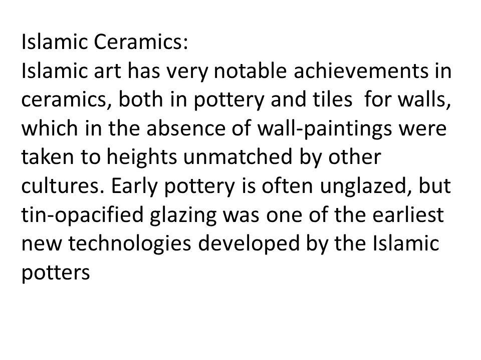 Islamic Ceramics: