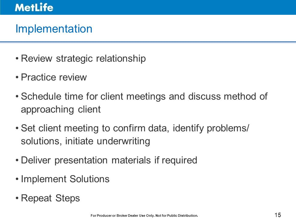 Implementation Review strategic relationship Practice review