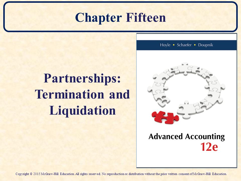 Termination and Liquidation