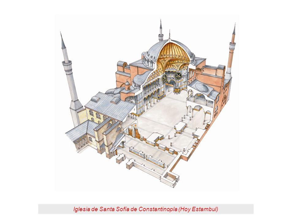 Iglesia de Santa Sofía de Constantinopla (Hoy Estambul)