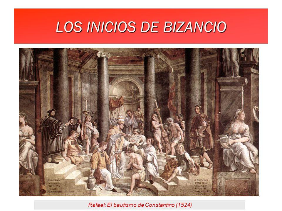 LOS INICIOS DE BIZANCIO