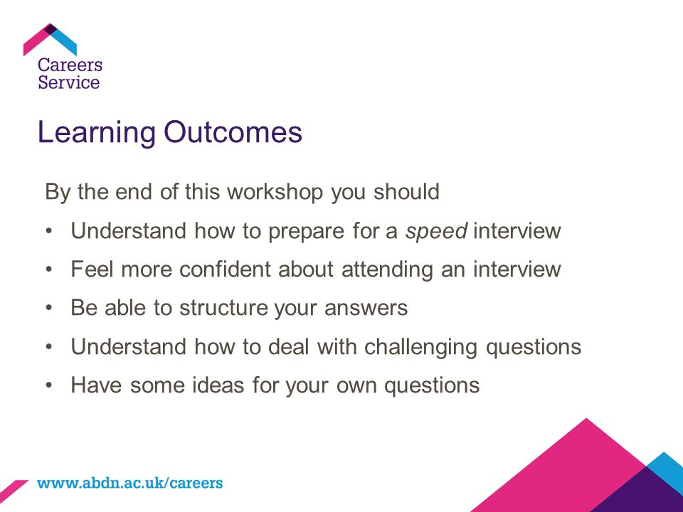 Learning Outcomes By the end of this workshop you should