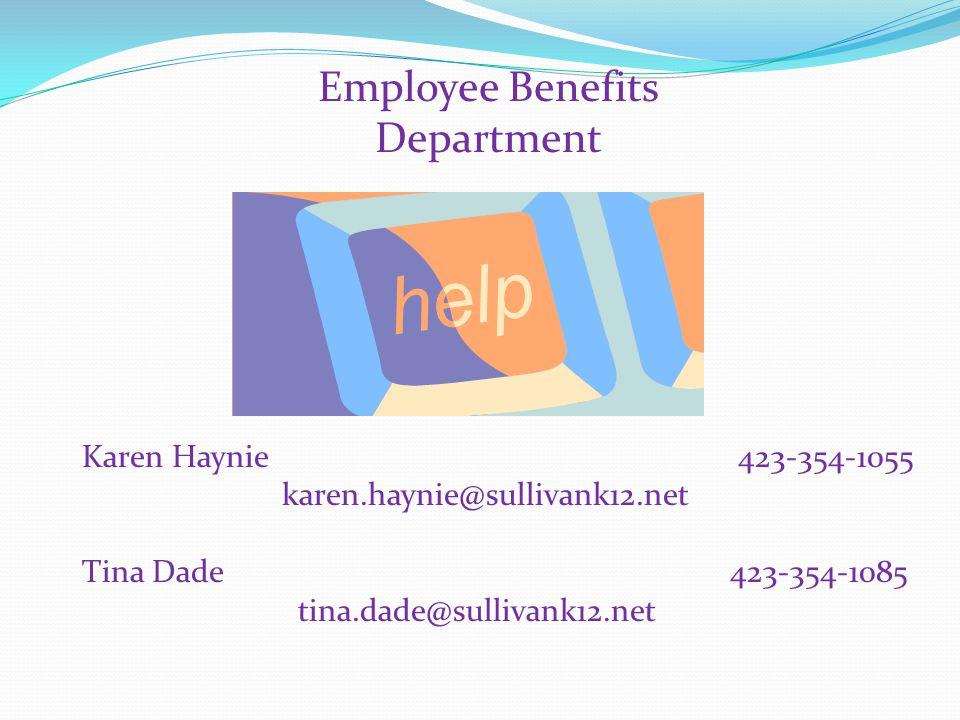 Employee Benefits Department