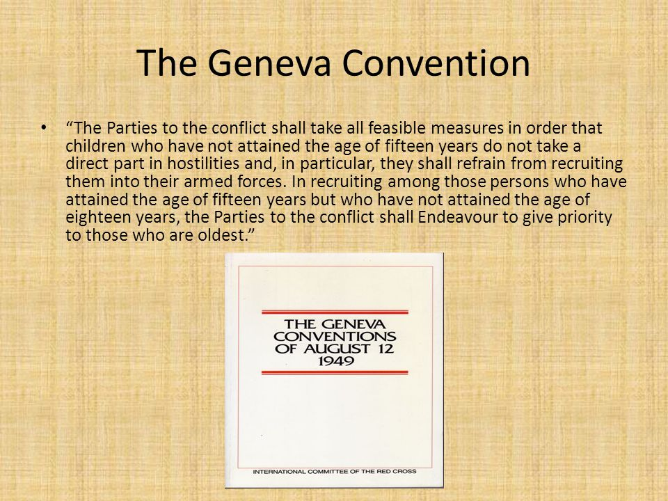 The Geneva Convention