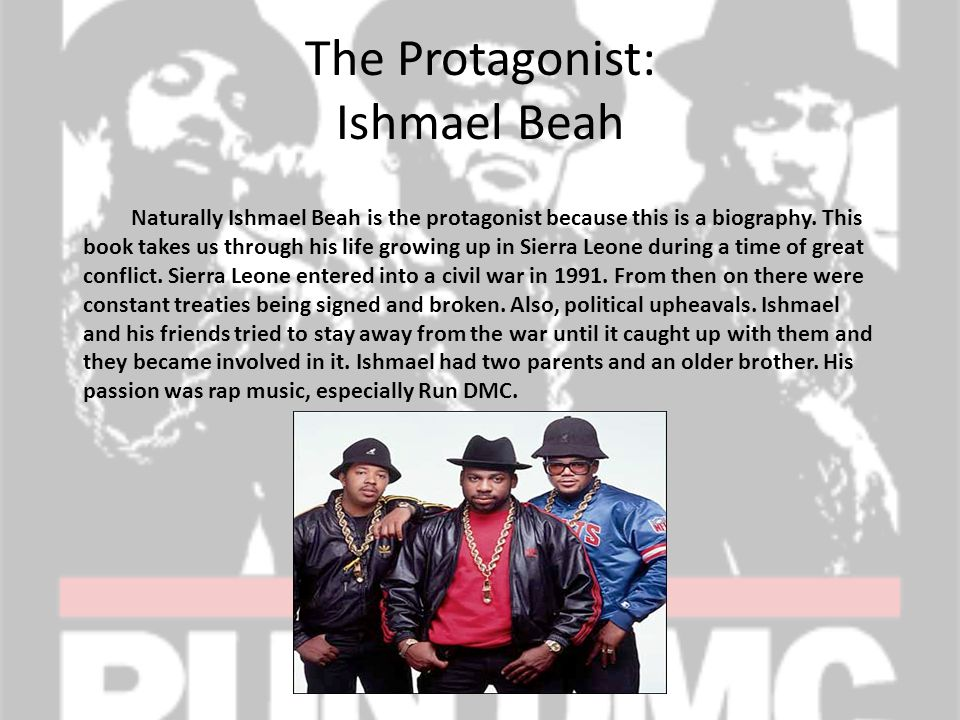 The Protagonist: Ishmael Beah