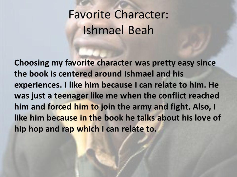 Favorite Character: Ishmael Beah