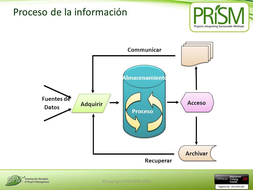 Proceso de la información