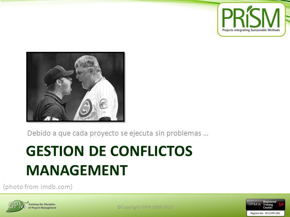 Gestion de conflictos management