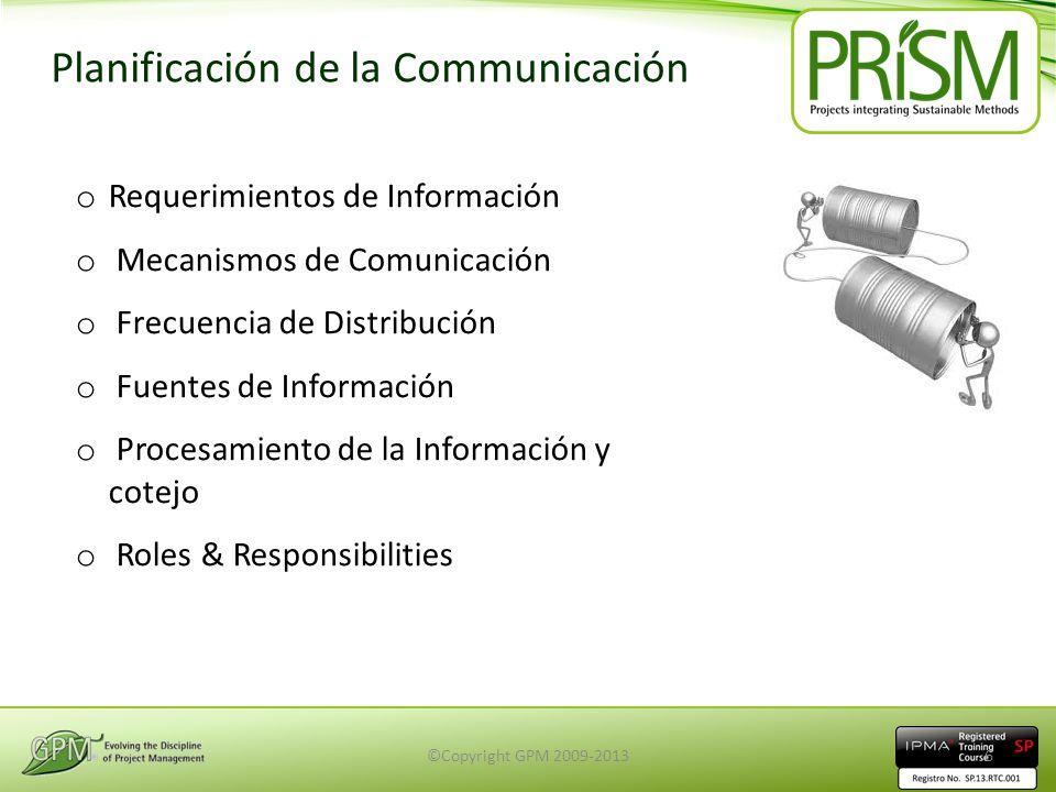 Planificación de la Communicación