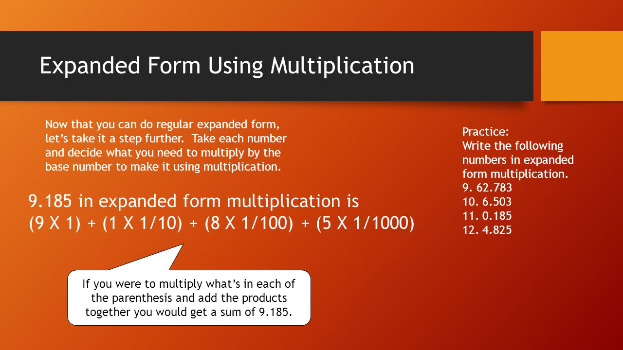 This powerpoint will help you get ready for the test ppt video expanded form using multiplication falaconquin