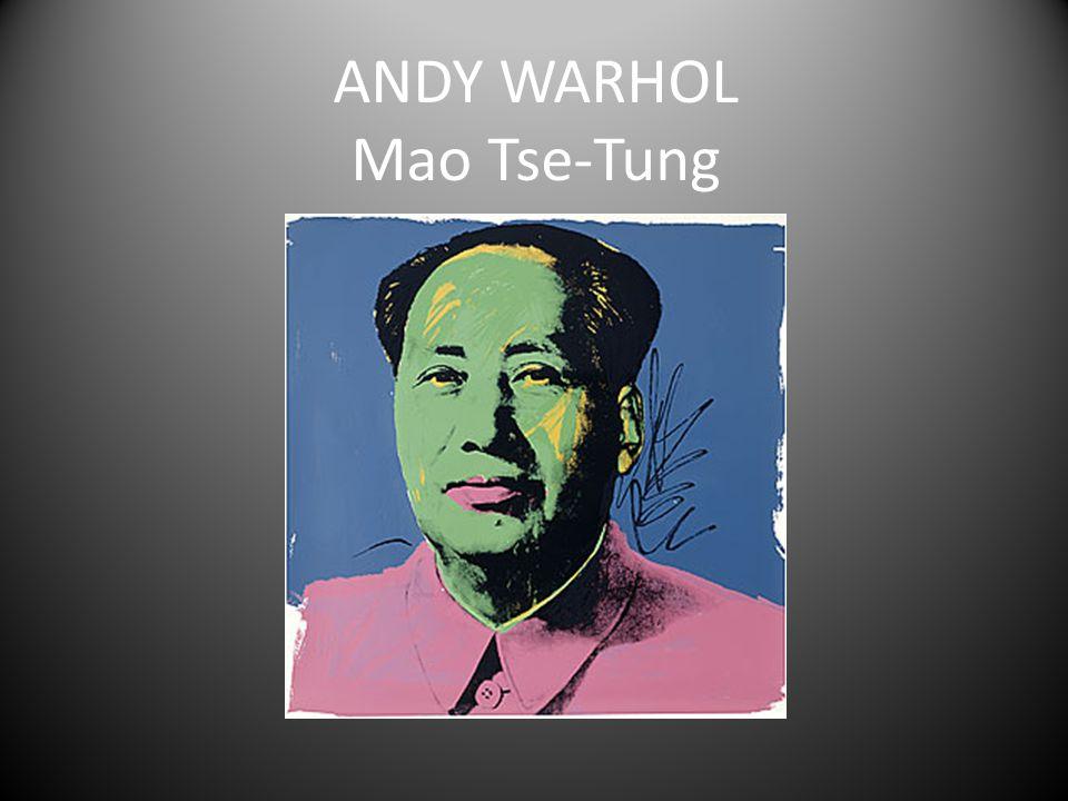 ANDY WARHOL Mao Tse-Tung