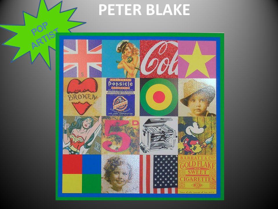 POP ARTIST PETER BLAKE