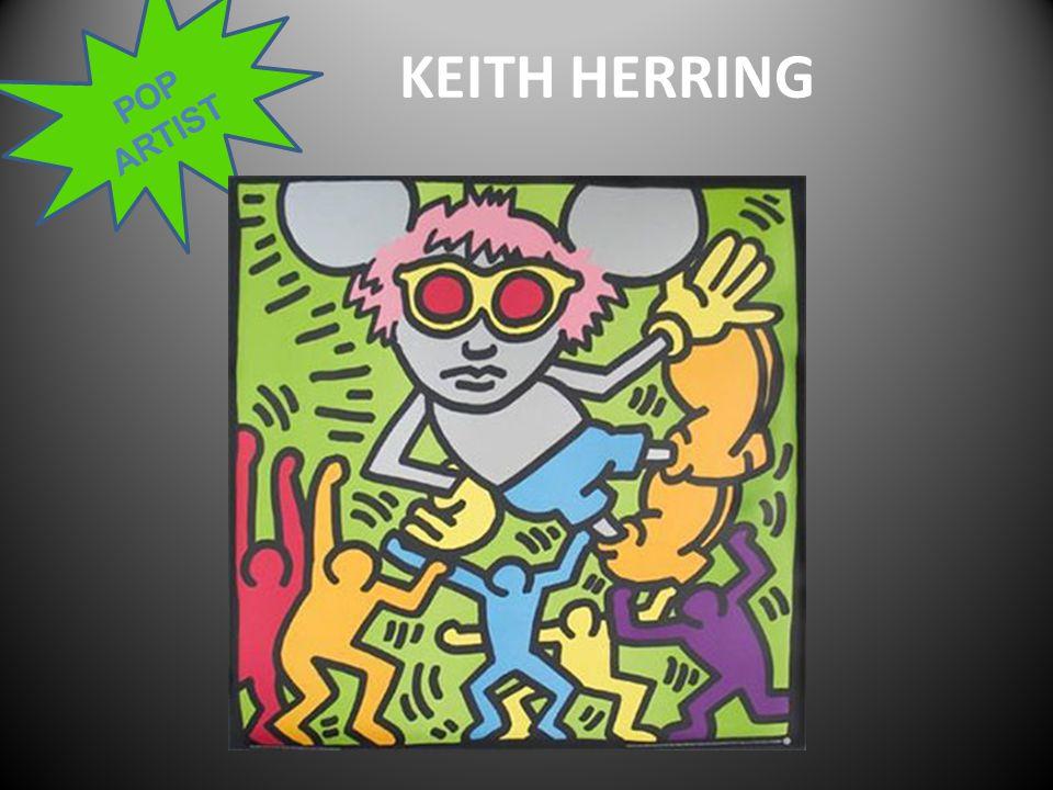 POP ARTIST KEITH HERRING