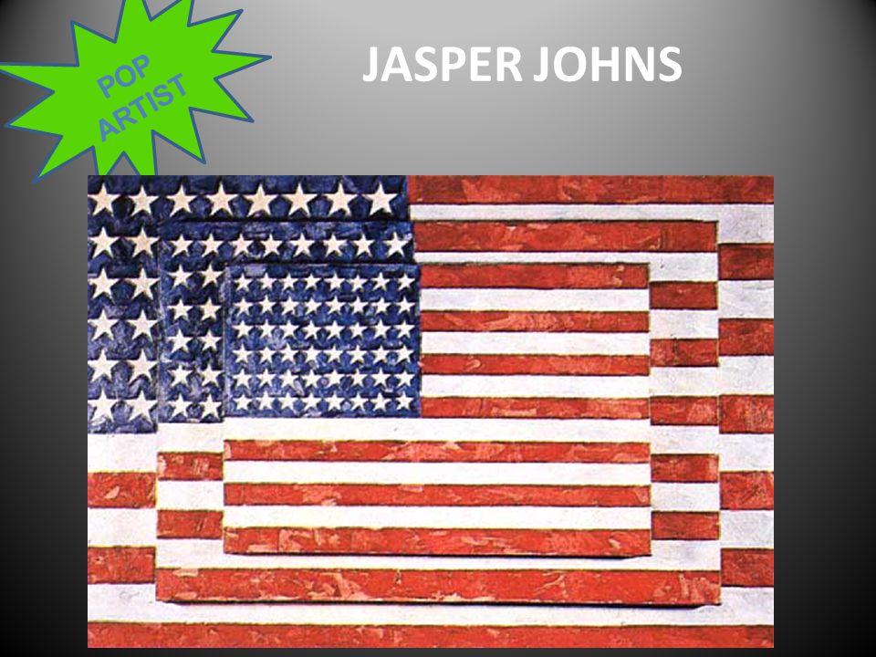 POP ARTIST JASPER JOHNS