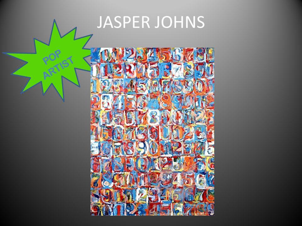 JASPER JOHNS POP ARTIST