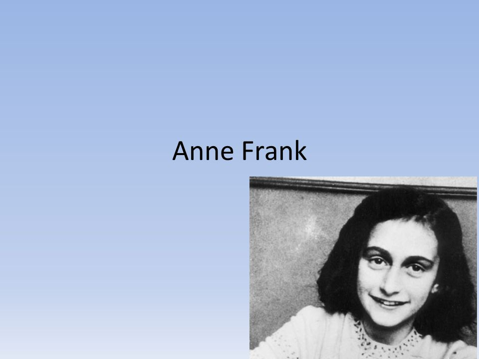 the factors influencing the maturity of anne frank The rate of ones who buy products by influencing outdoor advertising (1993): 64- 72 civelek factors influencing advertising and myles bassell frank.