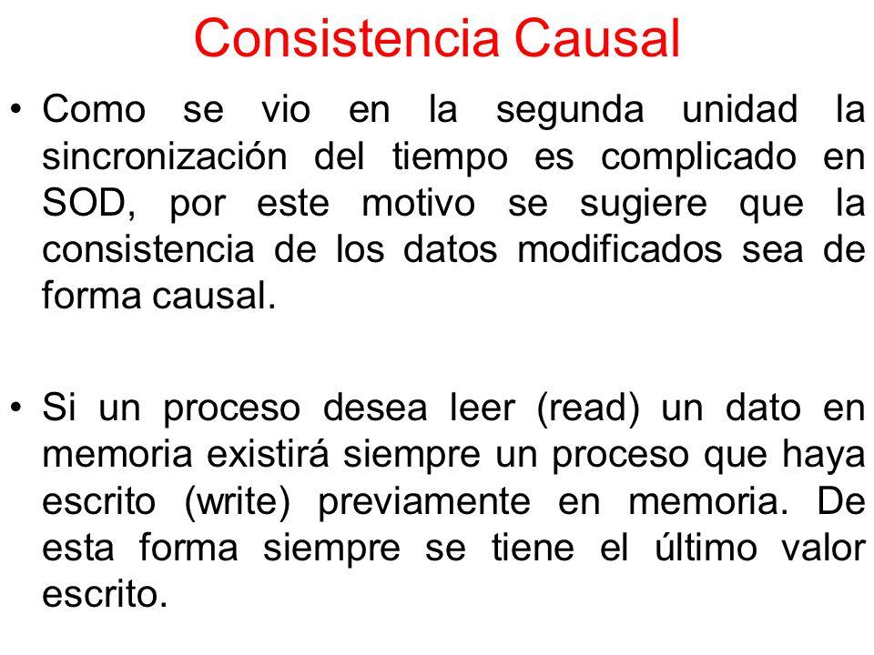 Consistencia Causal