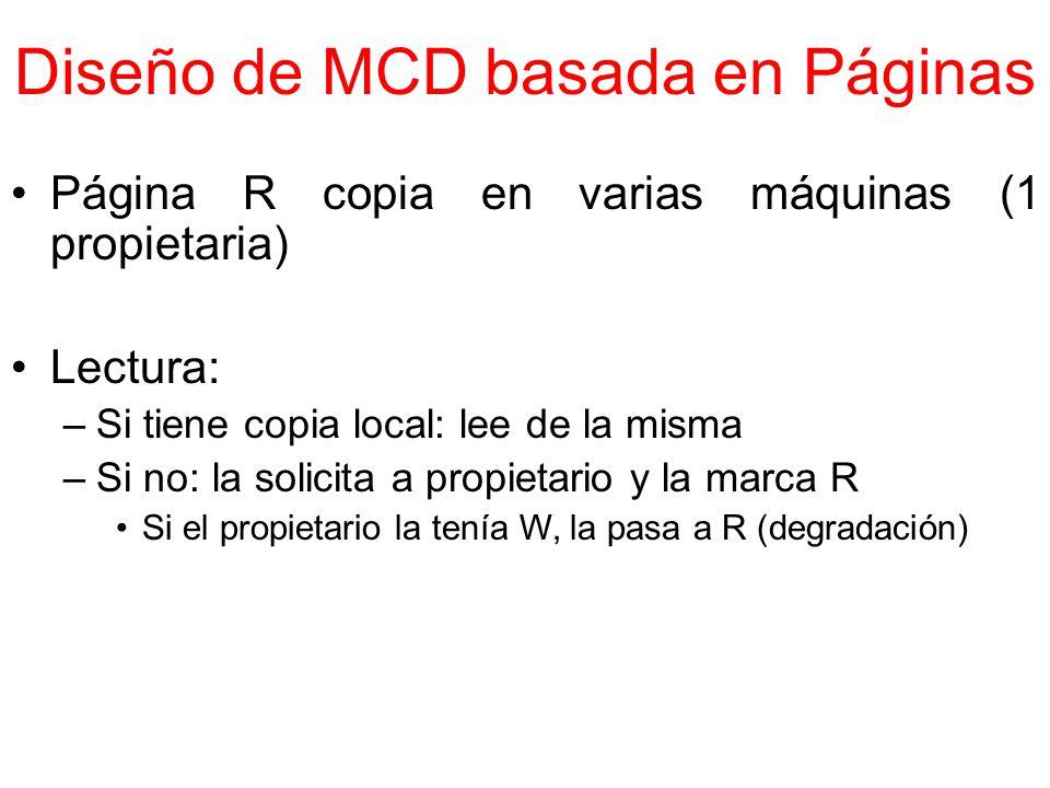 Diseño de MCD basada en Páginas