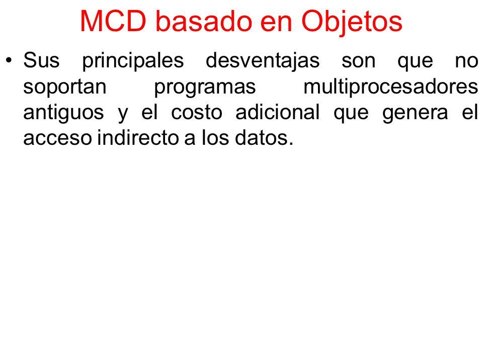 MCD basado en Objetos