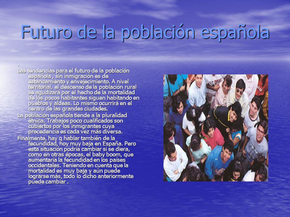 Futuro de la población española