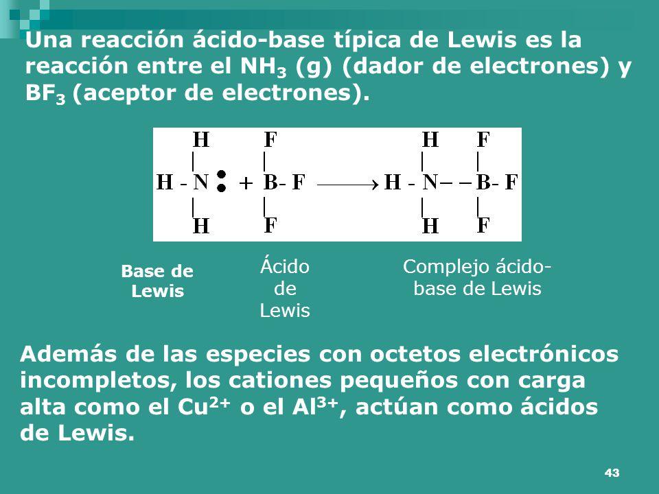 Complejo ácido-base de Lewis