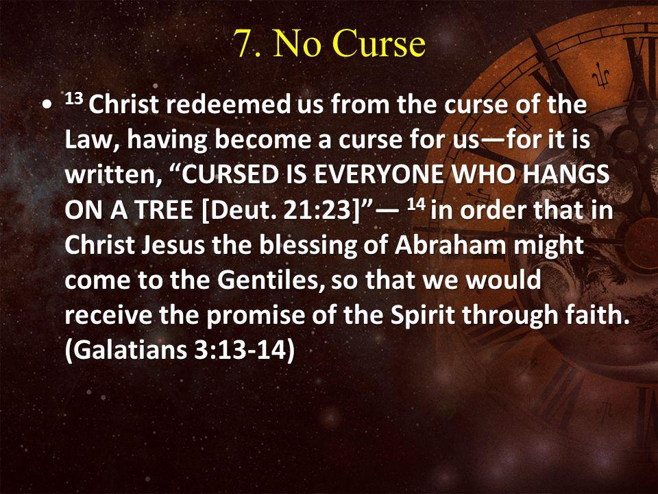 7. No Curse