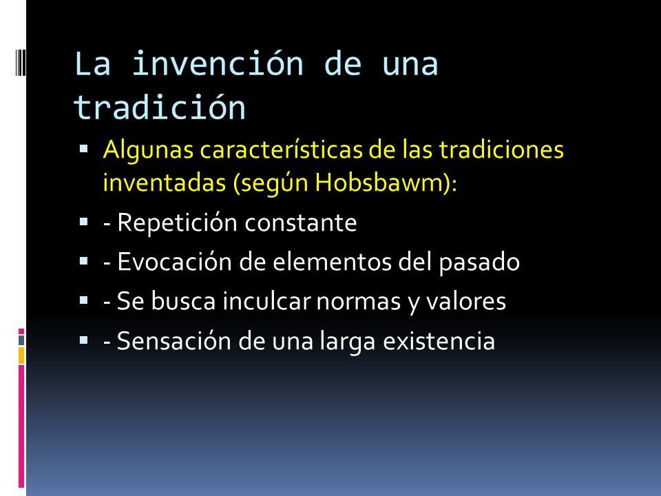 La invención de una tradición