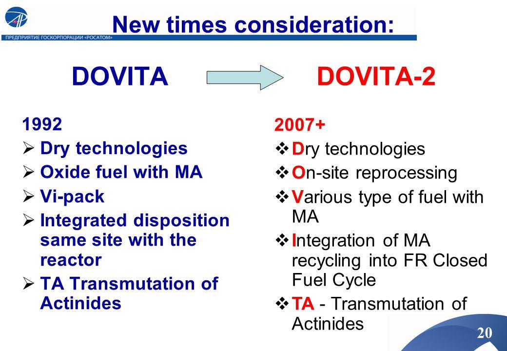 New times consideration: DOVITA DOVITA-2
