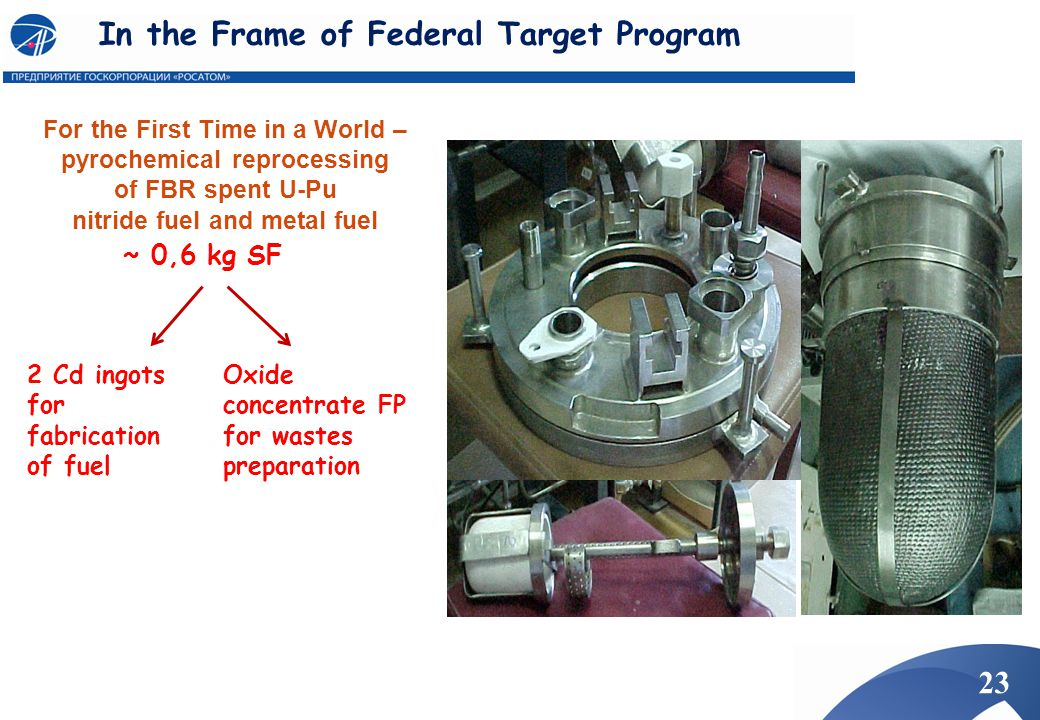 In the Frame of Federal Target Program