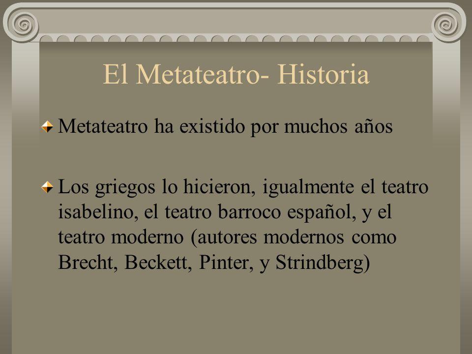 El Metateatro- Historia