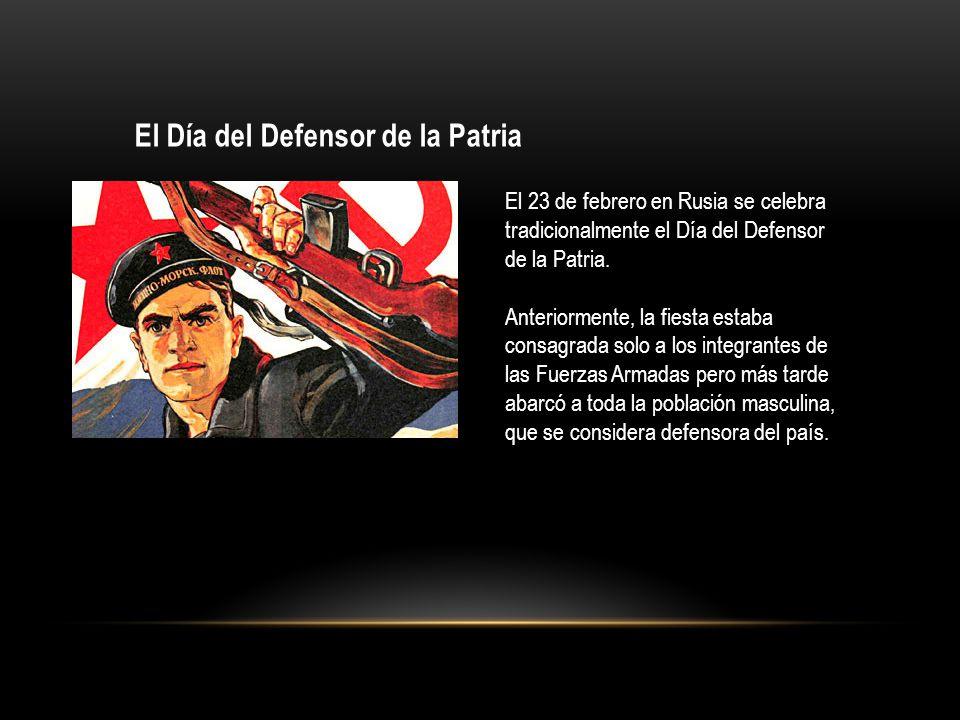 El Día del Defensor de la Patria